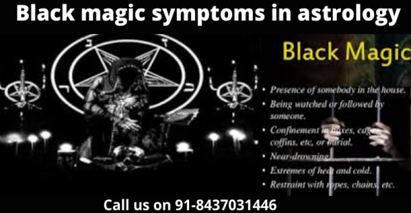 Black magic symptoms in astrology