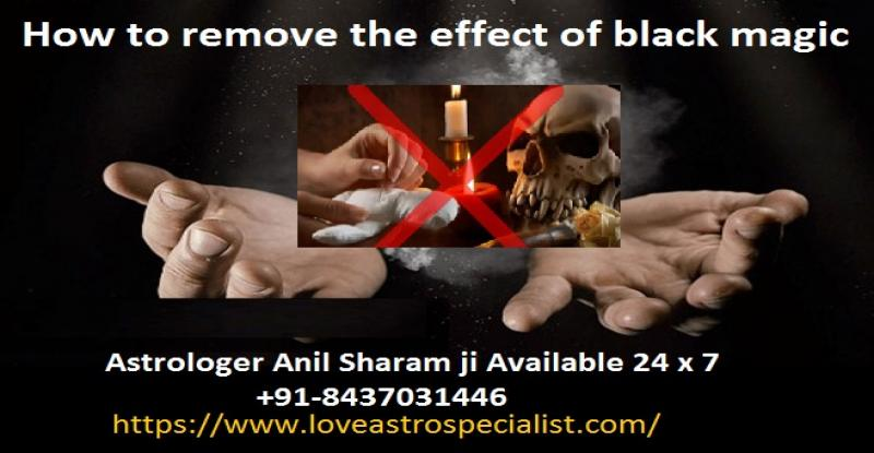 How to remove the effect of black magic