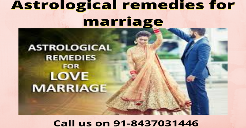 Astrological remedies for marriage